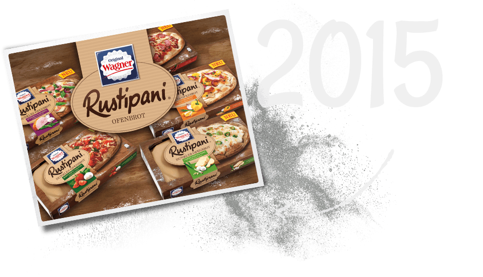 Das Rustipani Ofenbrot von Wagner Pizza kommt 2015 ins Sortiment