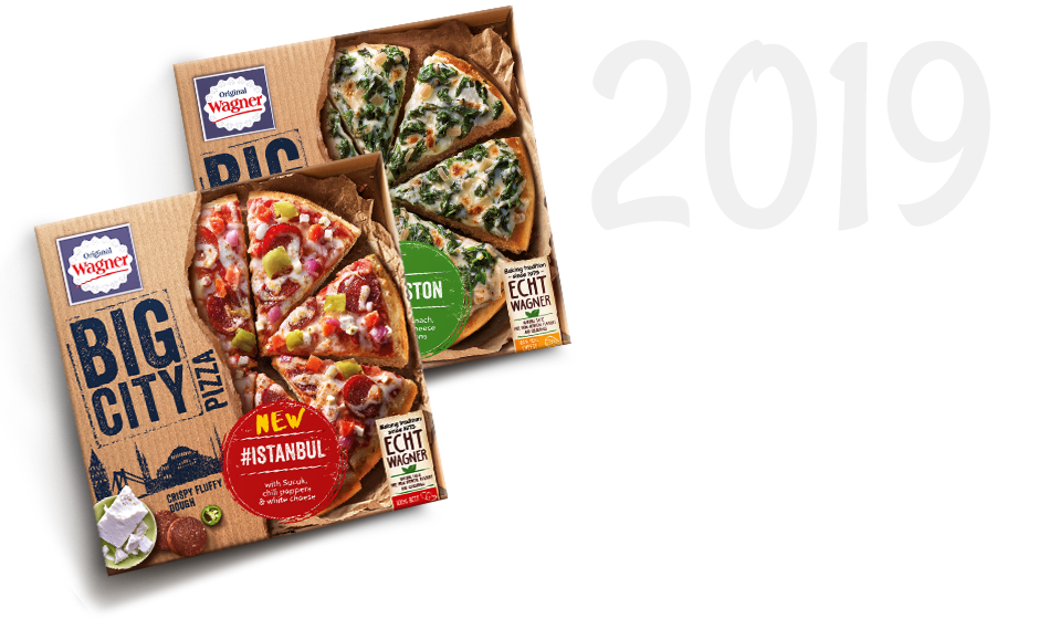 Die BIG Pizza wird zur BIG CITY Pizza