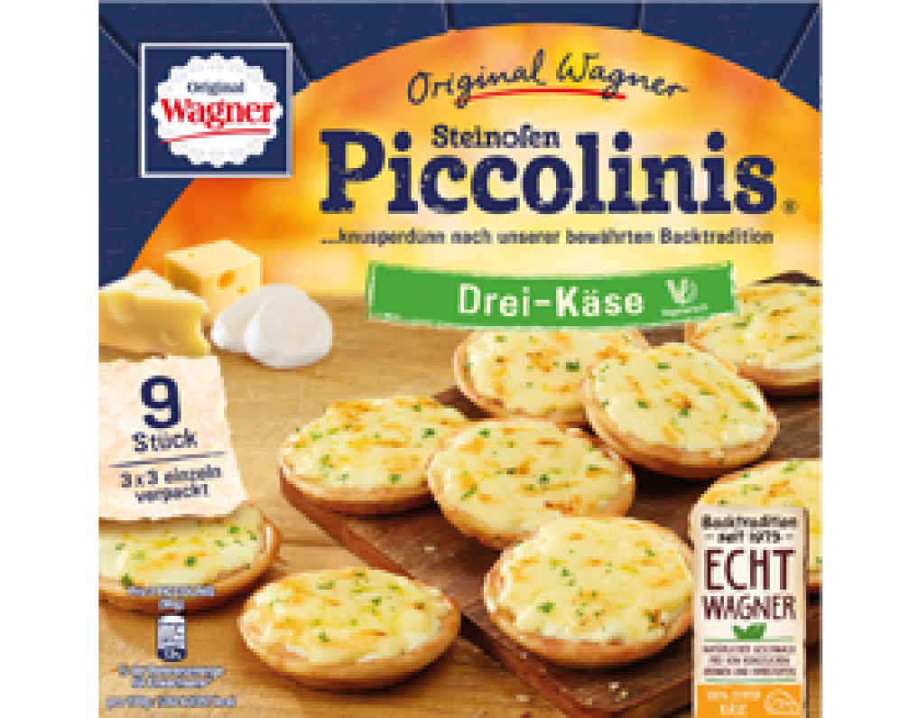Nestlé Wagner Produkte Zubereitung Piccolinis