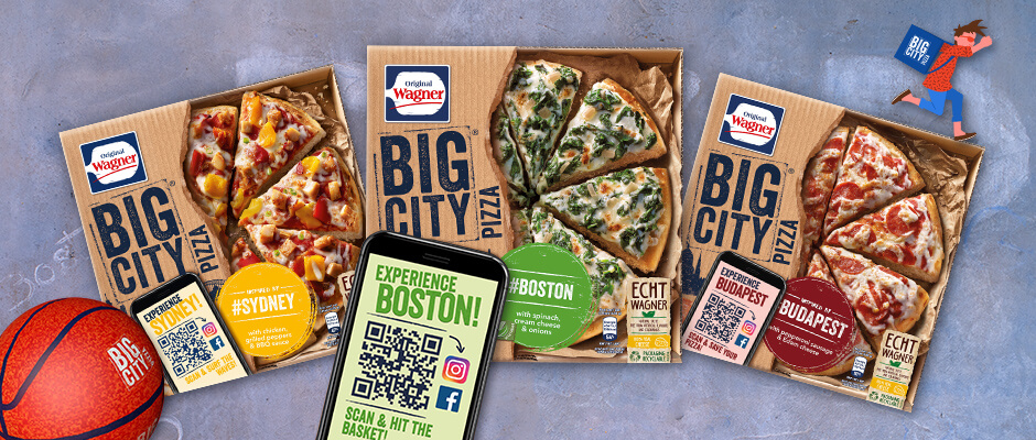 Original Wagner Big City Pizza Augmented Reality Filter & Games