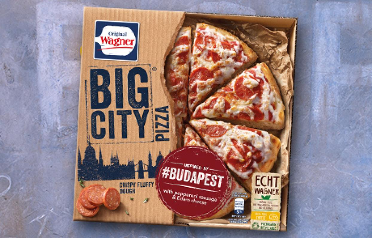 Wagner Pizza Packung Budapest