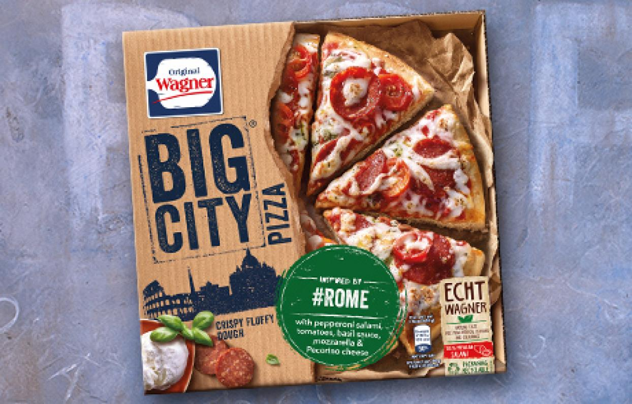 Wagner Pizza Packung Rom