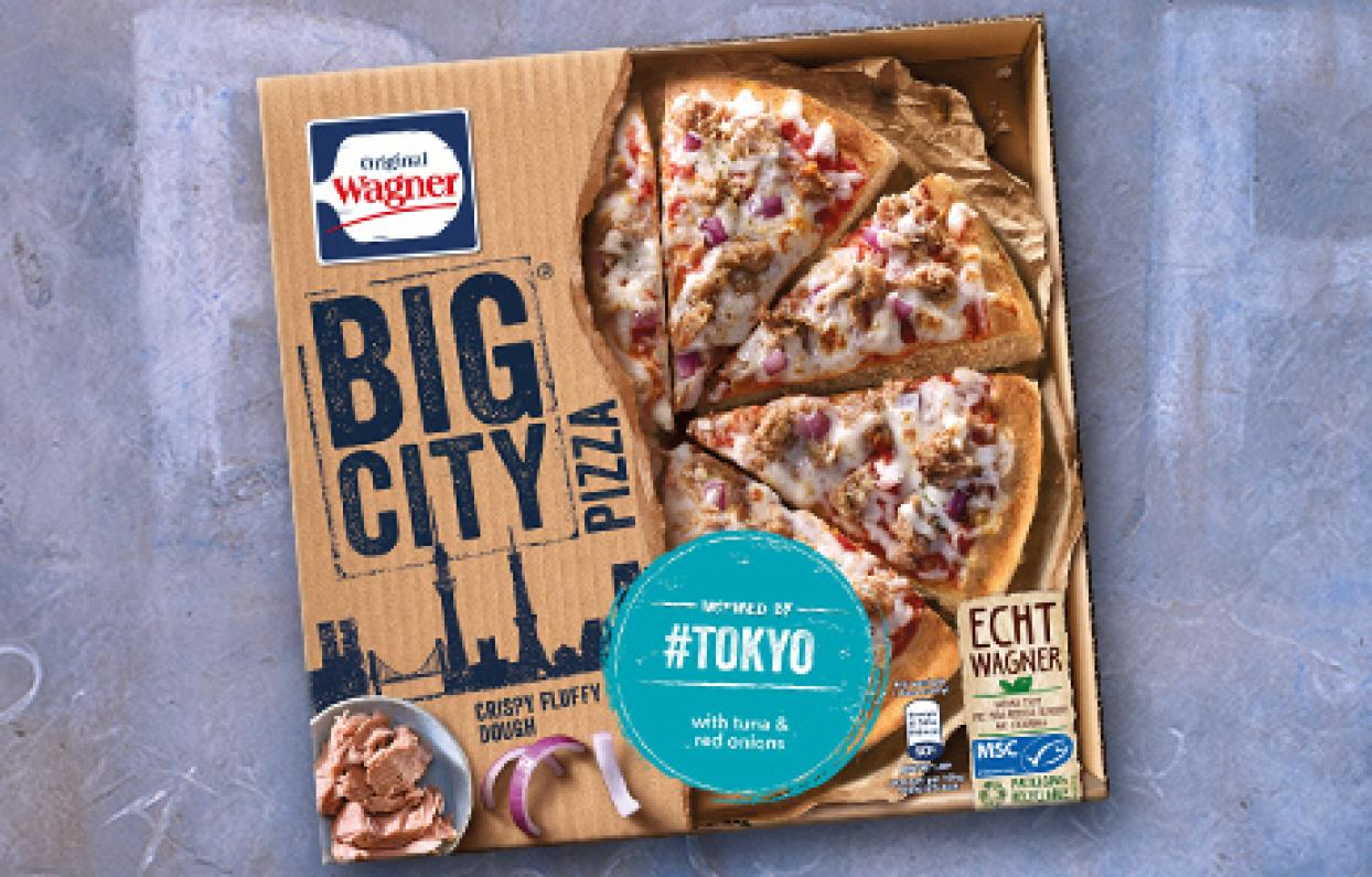 Wagner Pizza Packung Tokyo