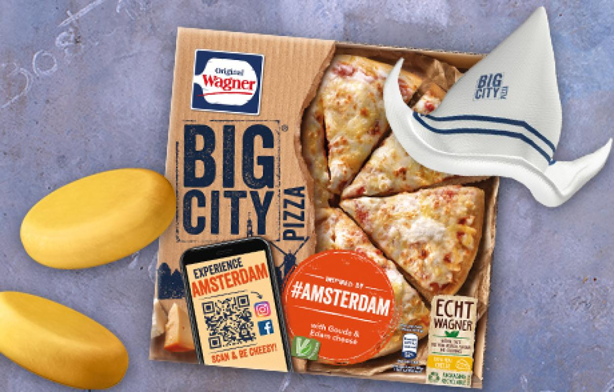 Original Wagner Big City Pizza Augmented Reality Filter & Games Amsterdam