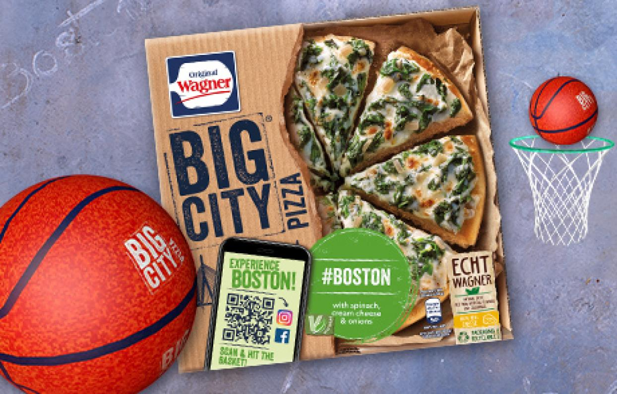 Original Wagner Big City Pizza Augmented Reality Filter & Games Boston