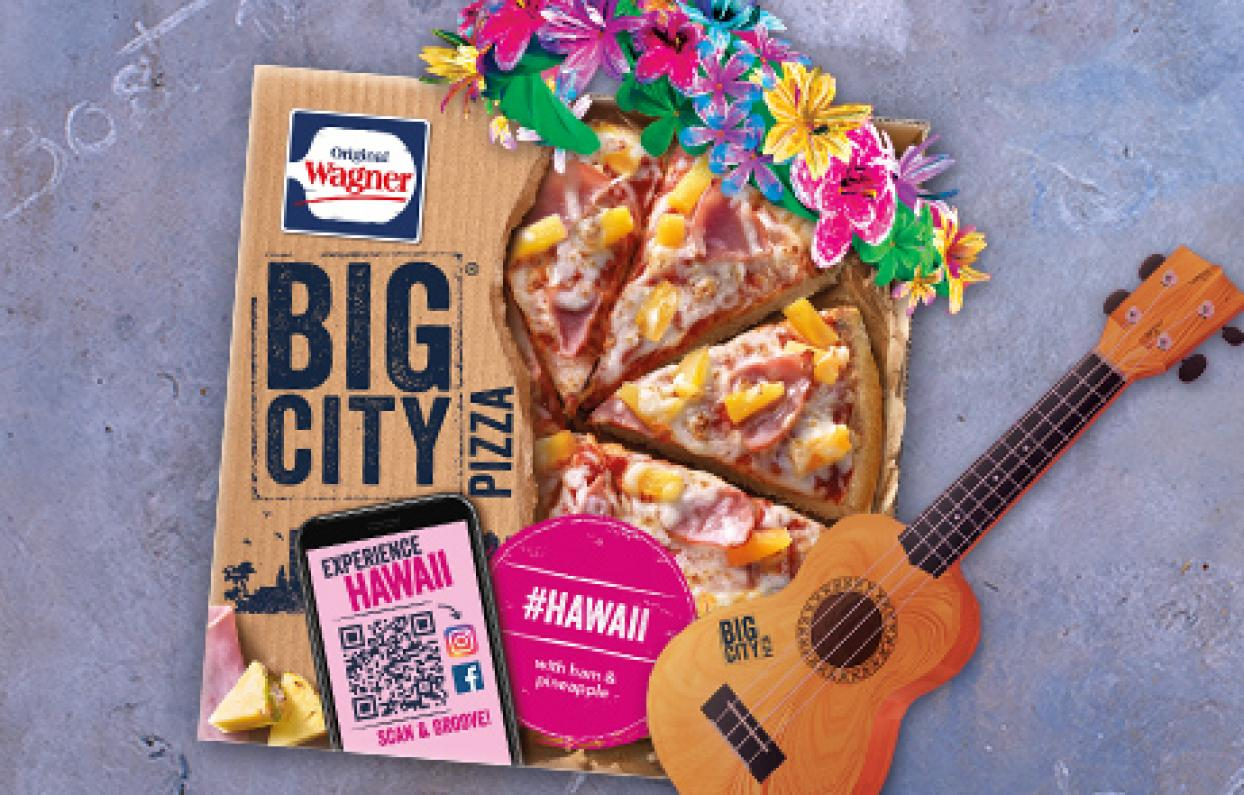 Original Wagner Big City Pizza Augmented Reality Filter & Games Hawaii