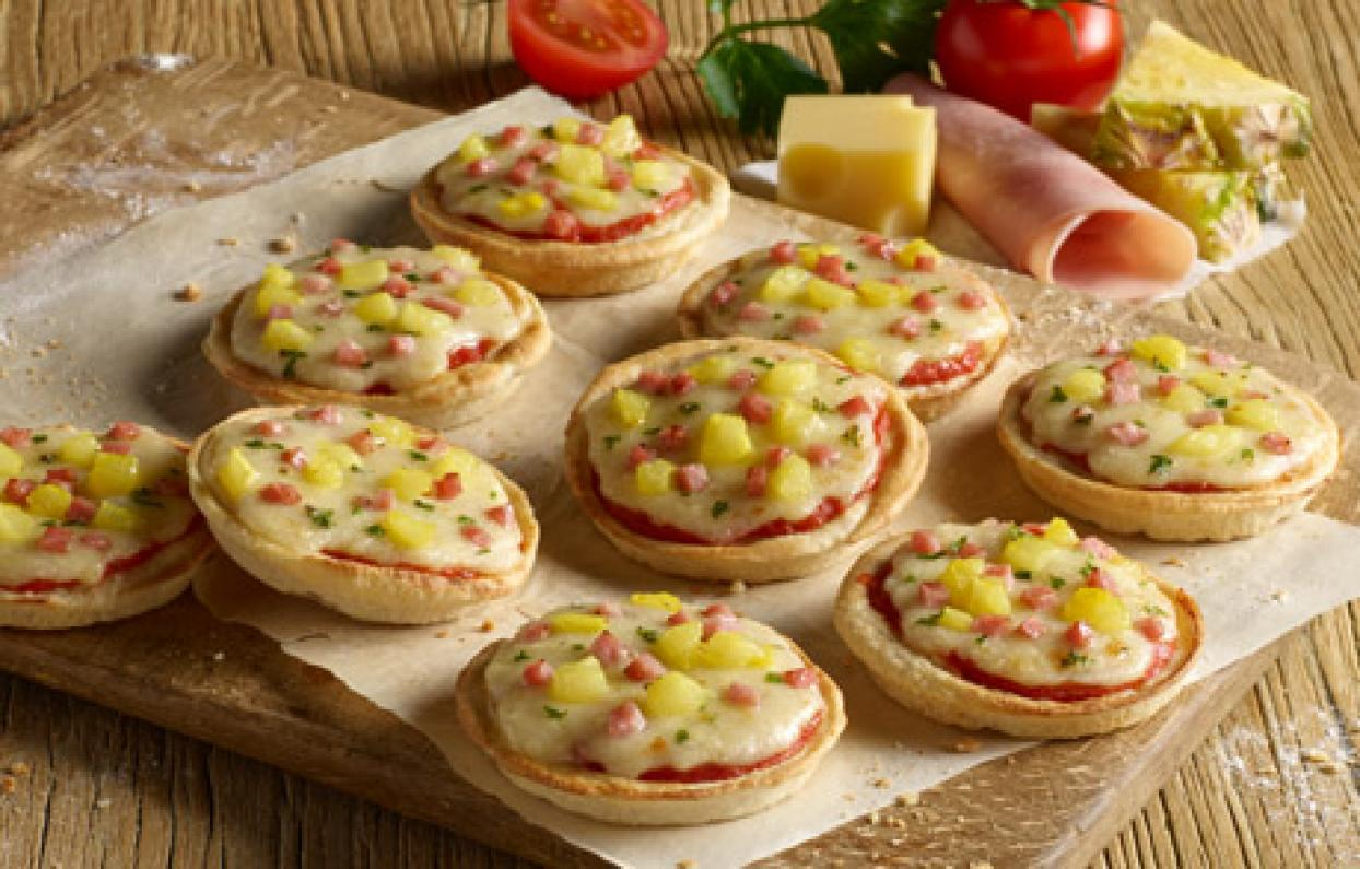 Nestlé Wagner Pizza Producten Piccolinis Hawaii